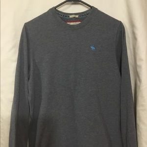 Abercrombie & Fitch long sleeve muscle tee